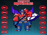 Optimus Prime dress up Transformers játékok