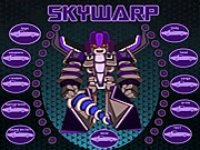 Skywarp dress up Transformers j�t�kok ingyen